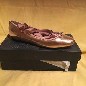 Cole Haan Rose Gold Ballerina Flats